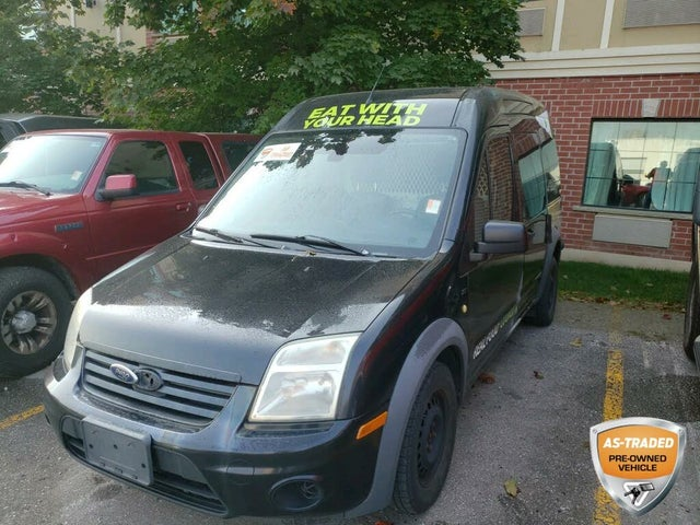 2011 Ford Transit Connect Cargo XLT FWD with Rear Glass