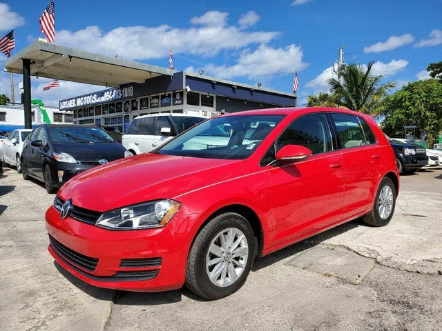 2016 Volkswagen Golf 1.8T SE 4-Door FWD