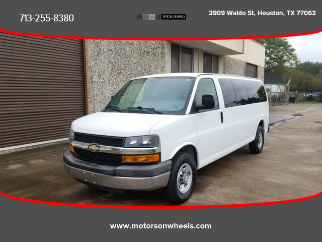 2013 Chevrolet Express 3500 1LT Extended RWD
