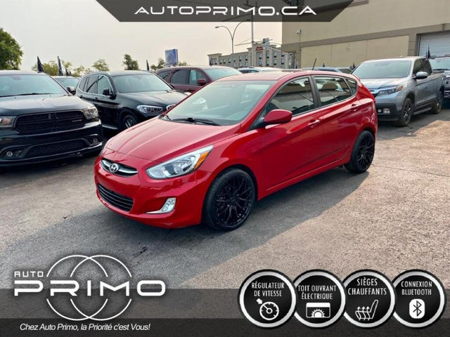 2017 Hyundai Accent GLS 4-Door Hatchback FWD