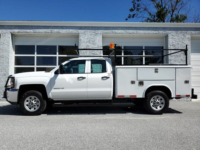 2016 Chevrolet Silverado 3500HD Work Truck Double Cab LB 4WD
