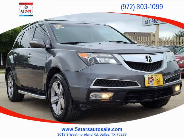 2012 Acura MDX SH-AWD with Technology Package
