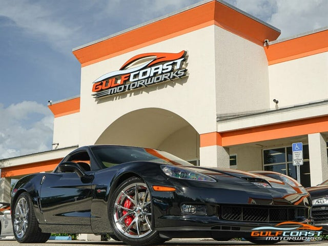 2009 Chevrolet Corvette Z06 1LZ Coupe RWD