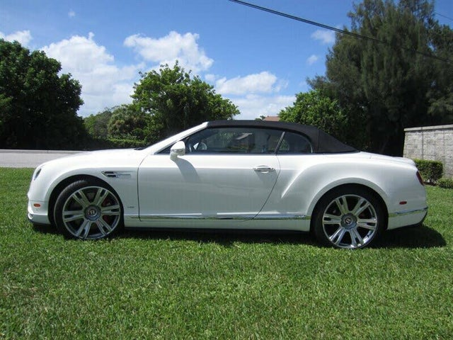 2016 Bentley Continental GTC V8 S AWD