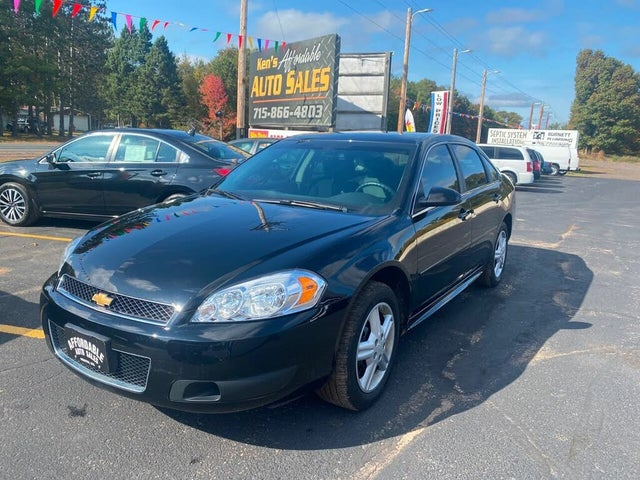 2014 Chevrolet Impala Limited Unmarked Police FWD