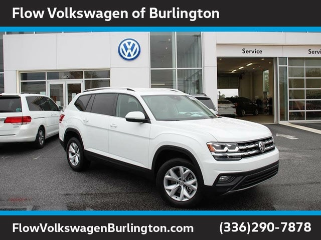 2019 Volkswagen Atlas SE 4Motion AWD with Technology