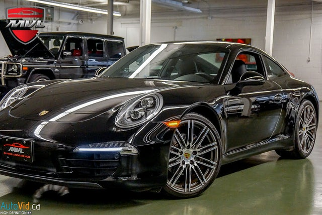 2016 Porsche 911 Carrera Black Edition Coupe RWD