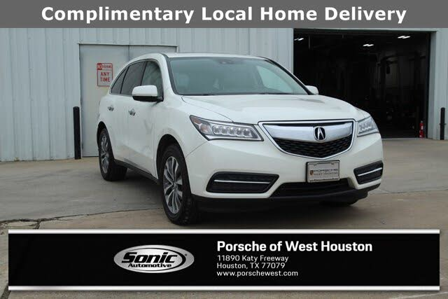 2014 Acura MDX FWD with Technology and Entertainment Package