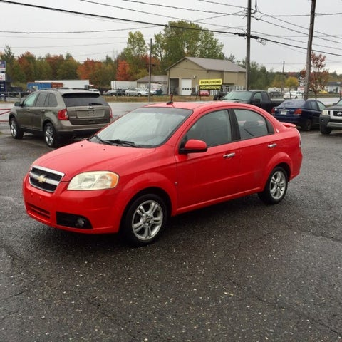 2009 Chevrolet Aveo LT Sedan FWD