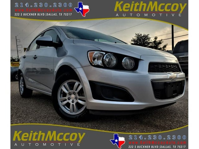 2014 Chevrolet Sonic RS Sedan FWD
