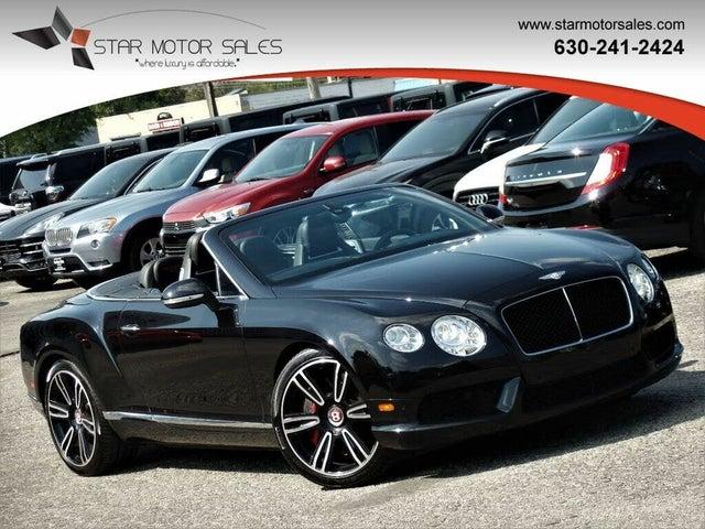 2013 Bentley Continental GTC V8 AWD