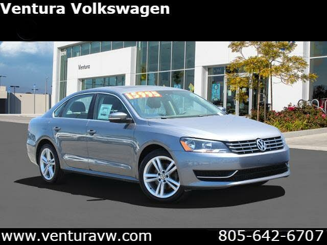 2015 Volkswagen Passat TDI SE with Sunroof