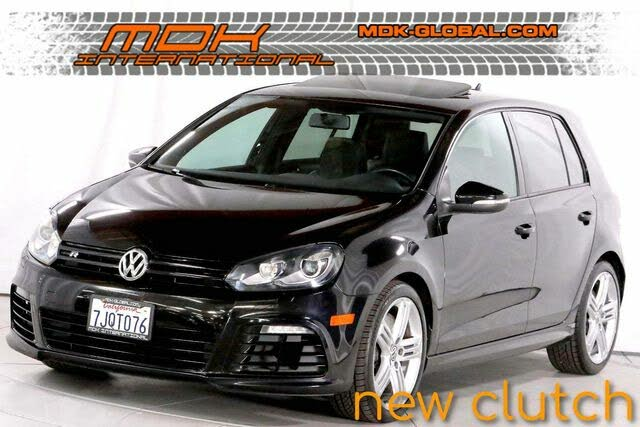 2012 Volkswagen Golf R 4-Door AWD with Sunroof and Navigation