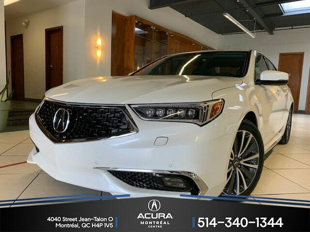 2018 Acura TLX SH-AWD with Elite Package