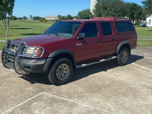 2000 Nissan Frontier 4 Dr XE 4WD Crew Cab SB