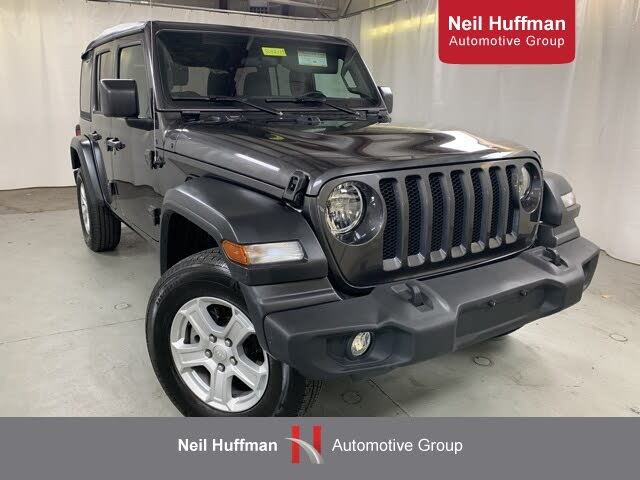 2020 Jeep Wrangler Unlimited Sport S 4WD