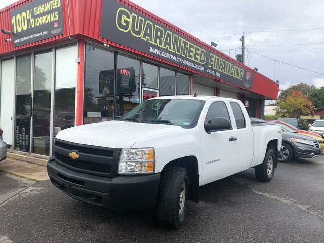 2013 Chevrolet Silverado 1500 Work Truck Extended Cab 4WD