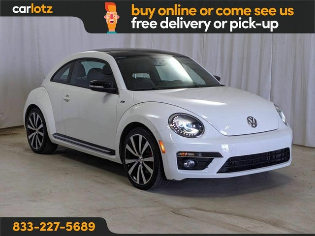 2014 Volkswagen Beetle R-Line with Sunroof, Sound, and Navigation