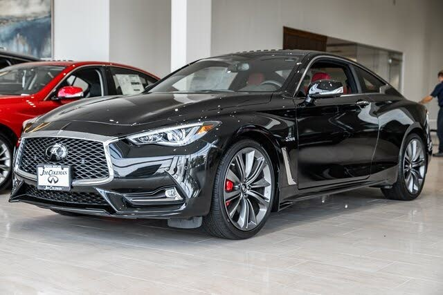 2020 infiniti q60 red sport 400 coupe awd for sale in