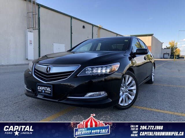 2014 Acura RLX FWD with Elite Package