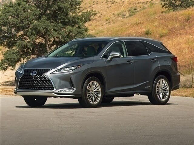 Used 2021 Lexus RX Hybrid 450hL Luxury AWD for Sale Right ...