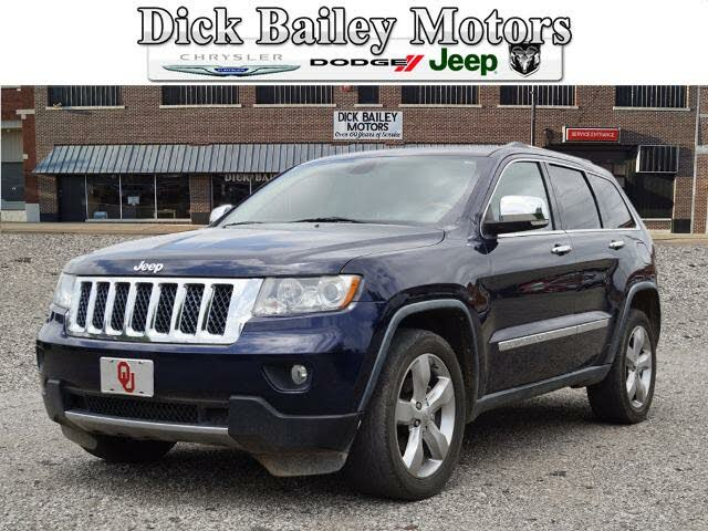 Used Jeep Grand Cherokee Overland for Sale in Tulsa, OK ...