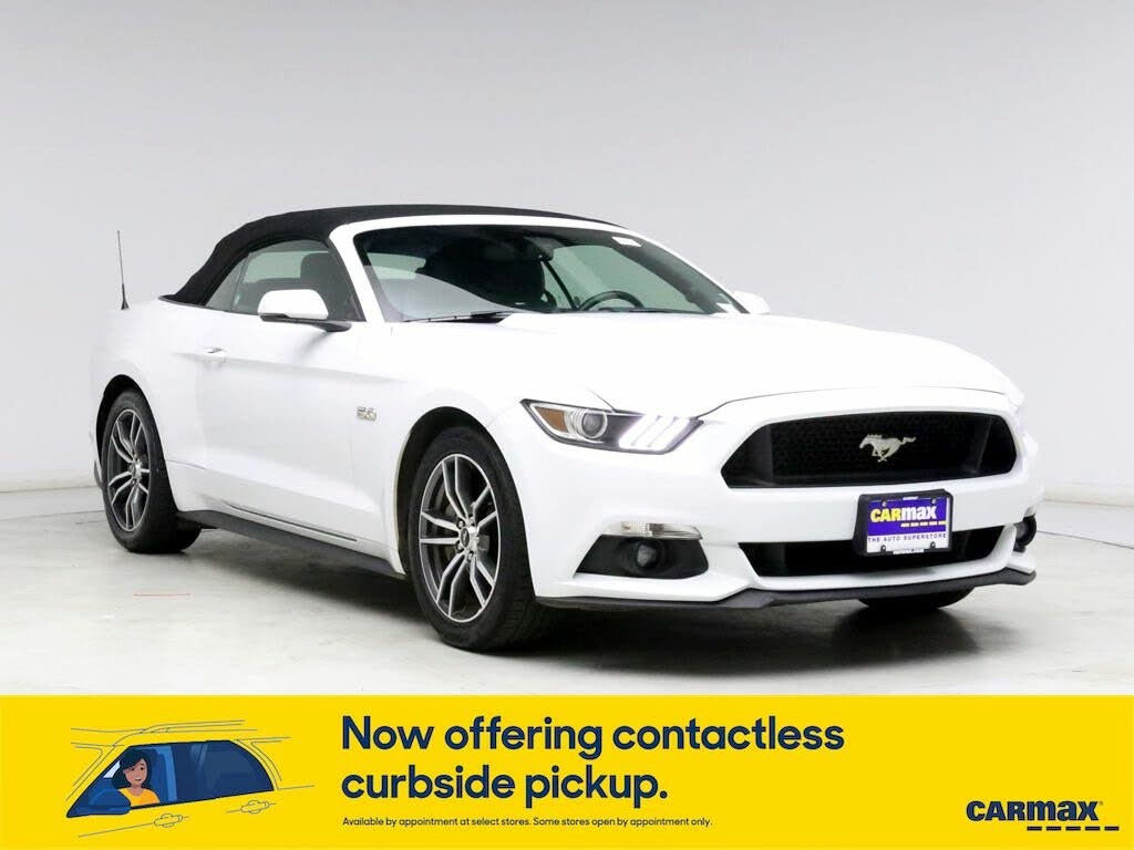 Used Ford Mustang Gt Premium Convertible Rwd For Sale Right Now Cargurus