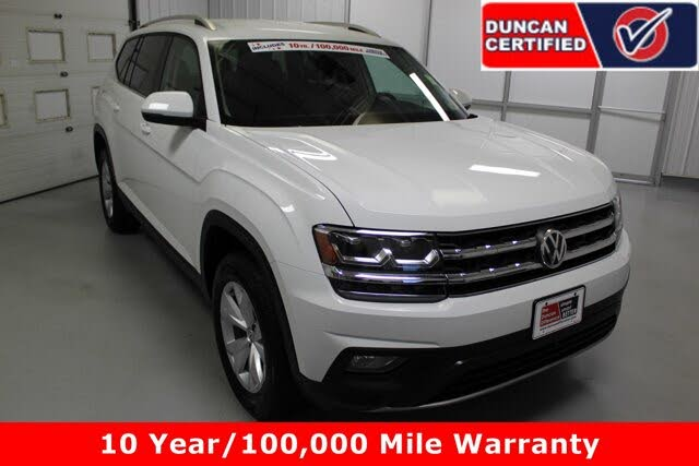 2019 Volkswagen Atlas SE 4Motion AWD