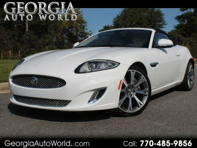 2013 Jaguar XK-Series XK Convertible RWD