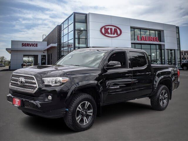 2016 Toyota Tacoma Double Cab V6 TRD Sport 4WD