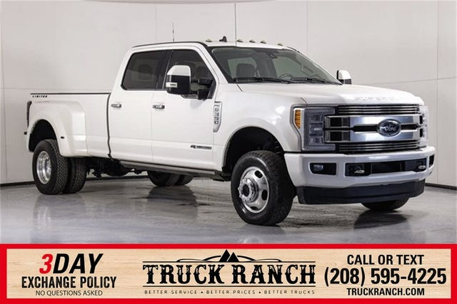 2019 Ford F-350 Super Duty Limited Crew Cab LB DRW 4WD