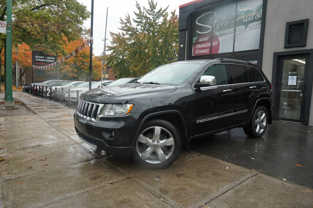 2012 Jeep Grand Cherokee Limited 4WD complet