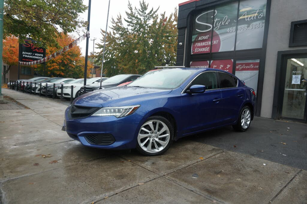 2016 Acura ILX FWD with Premium Package complet