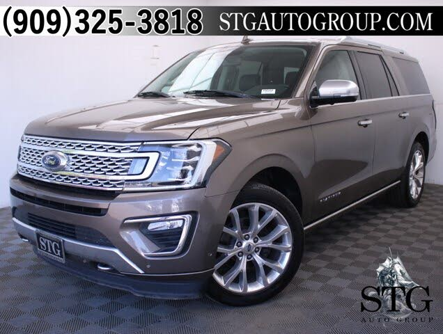 2018 Ford Expedition MAX Platinum 4WD
