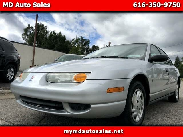 2002 Saturn S-Series 4 Dr SL Sedan