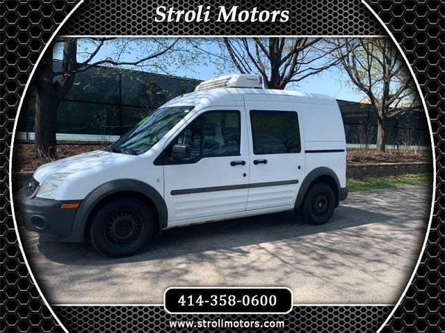 2011 Ford Transit Connect Cargo XL FWD with Side and Rear Glass