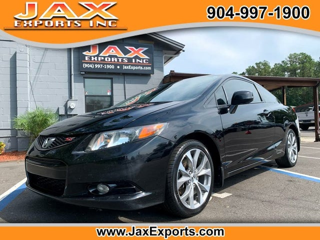 2012 Honda Civic Coupe Si with Summer Tires