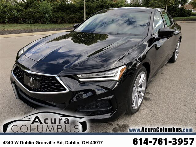 Used 2021 Acura TLX SH-AWD with Technology Package for ...