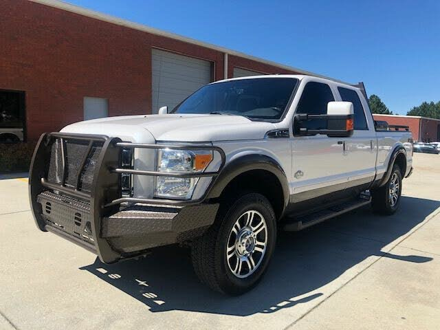 2016 Ford F-250 Super Duty King Ranch Crew Cab 4WD