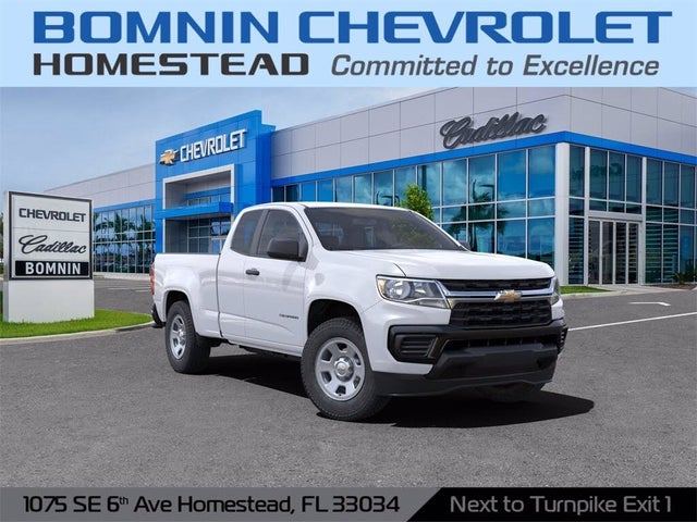 2021 Chevrolet Colorado Work Truck Extended Cab RWD