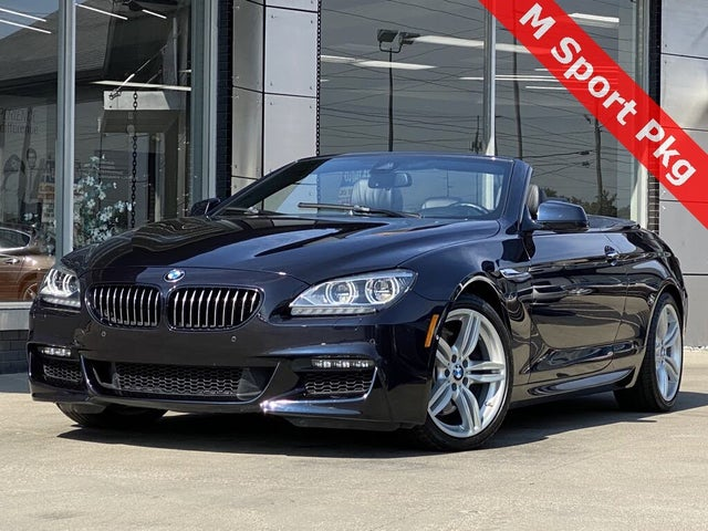 Used 2015 Bmw 6 Series 650i Xdrive Convertible Awd For Sale With Photos Cargurus