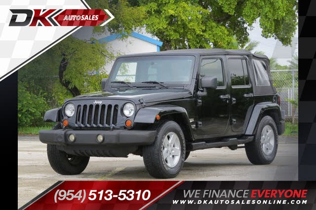 2007 Jeep Wrangler Unlimited Sahara RWD