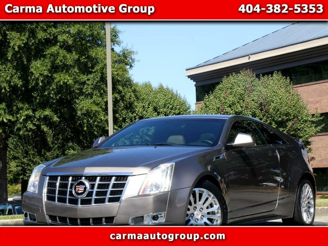 2012 Cadillac CTS Coupe 3.6L Premium RWD
