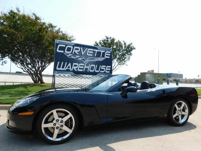 2008 Chevrolet Corvette Convertible RWD