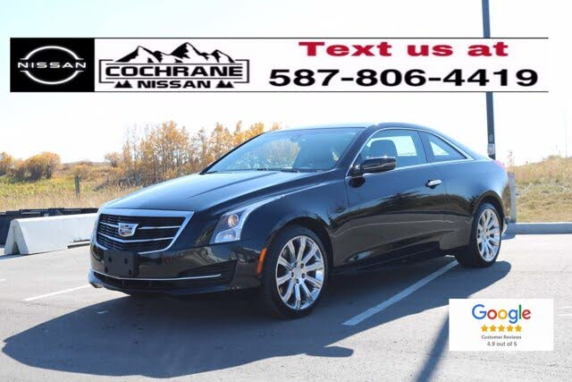 2015 Cadillac ATS Coupe 2.0T AWD