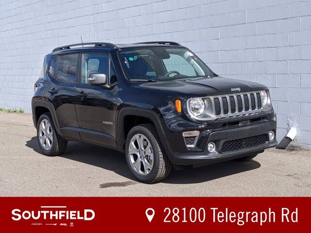 2020 Jeep Renegade Limited 4WD for Sale in Michigan - CarGurus