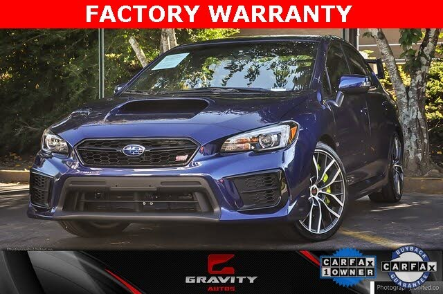 2020 Subaru WRX STI Limited AWD with Wing Spoiler