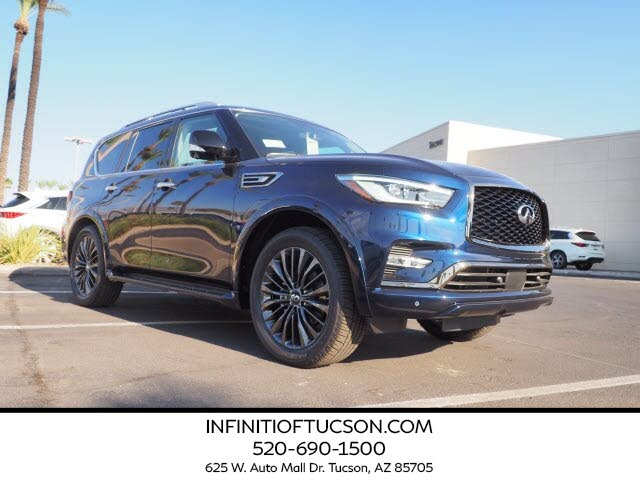 2021 infiniti qx80 for sale in sierra vista, az - cargurus