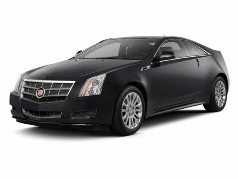 2012 Cadillac CTS Coupe 3.6L Performance RWD