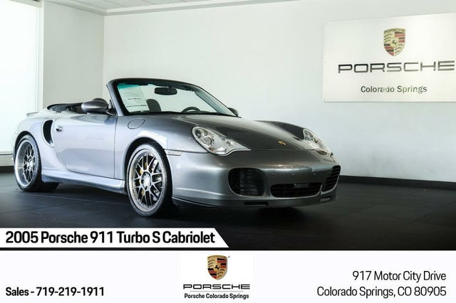 2005 Porsche 911 Turbo S Convertible AWD